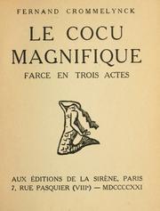 Le Cocu magnifique httpscoversopenlibraryorgbid6323214Mjpg