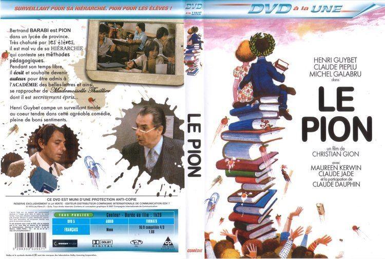 Le Pion Jaquette DVD de Le pion Cinma Passion