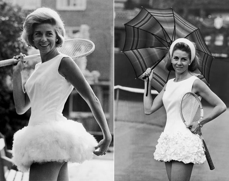 Lea Pericoli Lea Pericoli 1964 amp 1965 Photos Tennis fashion