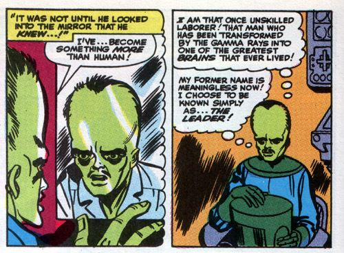 Leader (comics) marvel comics What happened to Mr Blue after he was infected in
