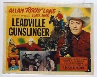 Leadville Gunslinger Leadville Gunslinger Western Movie Posters Cirone Studios