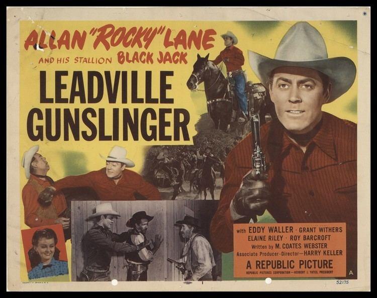 Leadville Gunslinger Leadville Gunslinger 1952 Original Movie Poster FFF37958 FFF