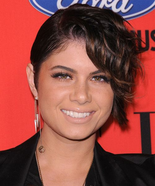 Leah LaBelle Leah La Belle Hairstyles Celebrity Hairstyles by