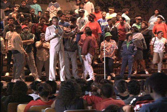 Lean on Me (film) American Rhetoric Movie Speech from Lean on Me Joe Clark