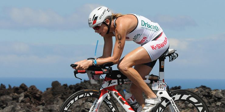 Leanda Cave Skincare in the sun with Ironman world champion Leanda Cave