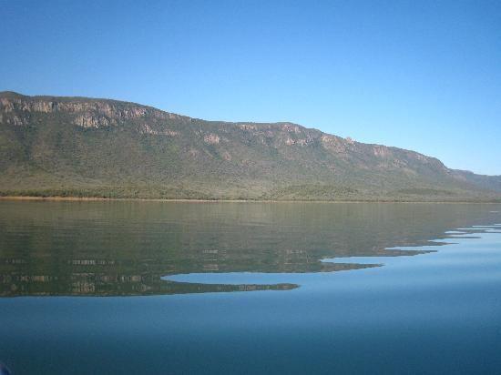 Lebombo Mountains The Lebombo Mountains Lake Jozini Pongola Picture of Shayamoya