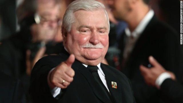 Lech Walesa Former President Lech Walesa Reflects On Polands Past
