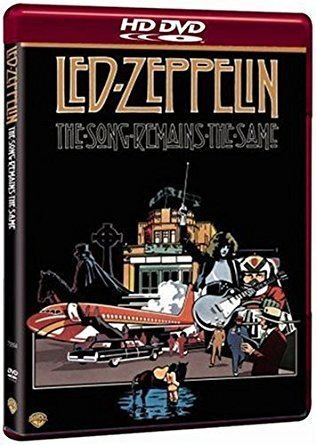 Led Zeppelin DVD Led Zeppelin The Song Remains The Same HD DVD Amazoncouk Led