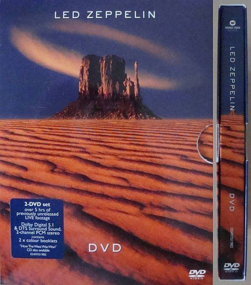 Led Zeppelin DVD The biggest led zeppelin discography discografia plant jones