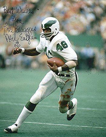 Lee Bouggess Autographed Lee Bouggess 8x10 Photograph Philadelphia Eagles