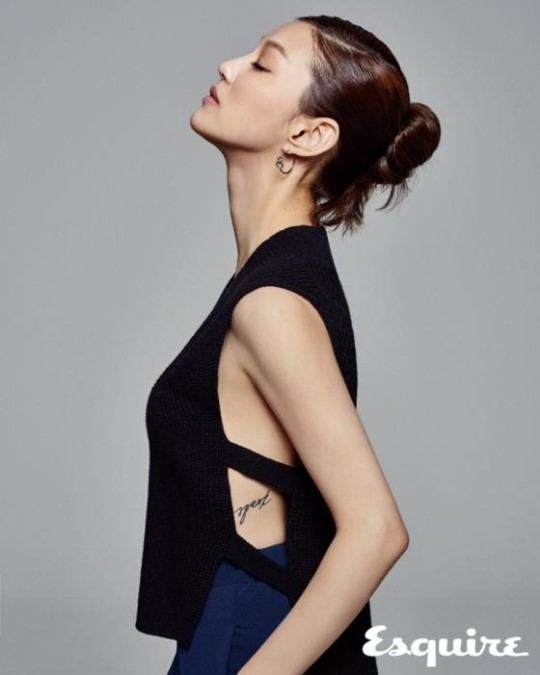 Lee El Rising Actress Lee El Receives the Spotlight in Esquire Pictorial