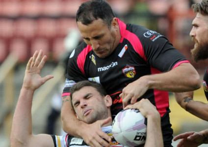 Lee Gilmour Wakefield Wildcats Combined playing and coaching role for