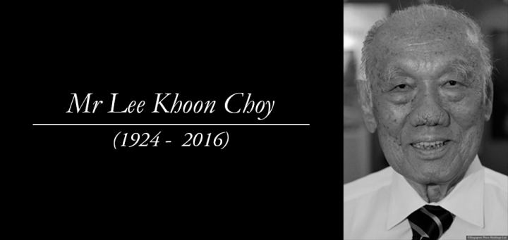 Lee Khoon Choy Former Singapore politician and diplomat Lee Khoon Choy passes