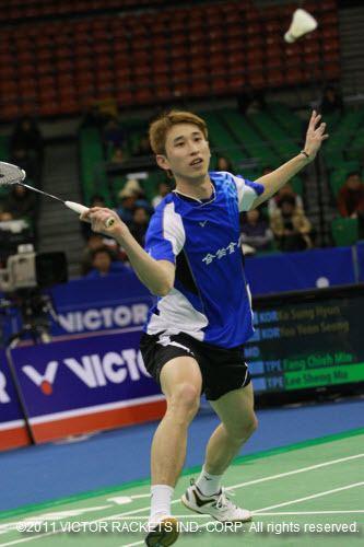 Lee Sheng-mu SCG Thailand Open Grand Prix Gold 2011 VICTOR Badminton