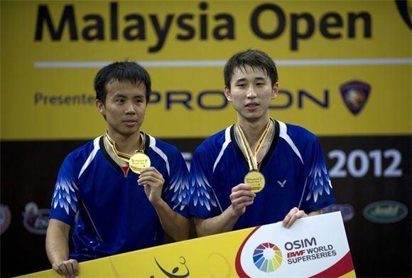 Lee Sheng-mu 2012 Maybank Malaysia Open MD Winners Fang Chieh Min