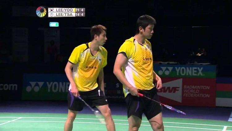 Lee Sheng-mu Lee Yong DaeYoo Yeon Seong vs Lee Sheng MuTsai Chia Hsin
