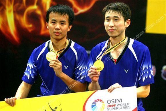 Lee Sheng-mu Badminton Lee SHeng Mu and Fang Chieh BadmintonLinkcom