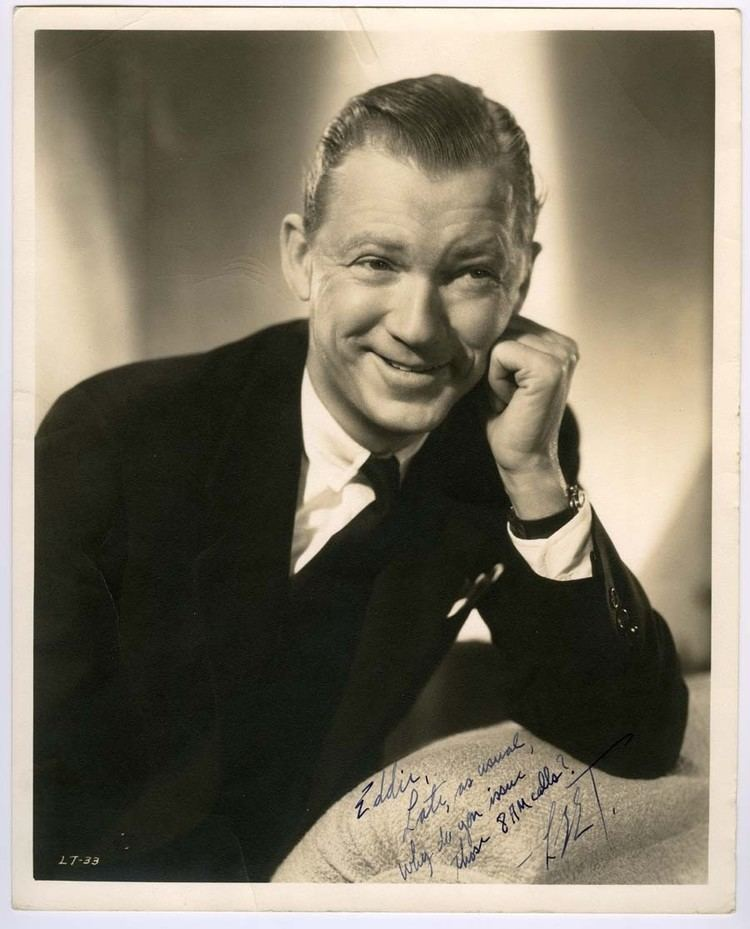 Lee Tracy Lee Tracy Autographed Photo Actor Autographs