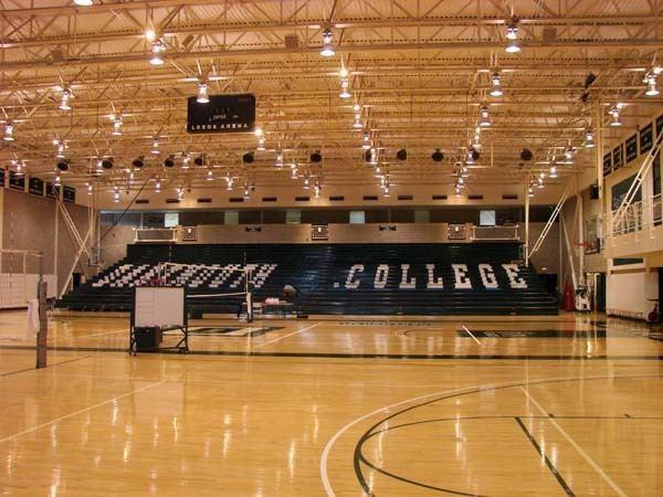 Leede Arena SDampS Dartmouth College Leede Arena Bleacher Painting