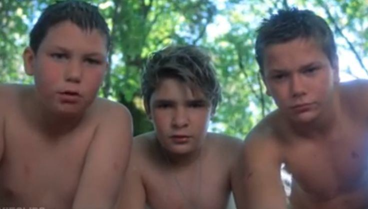 Leeches! movie scenes Stand By Me The leech scene after Wil Wheaton passed out Favorite Movie