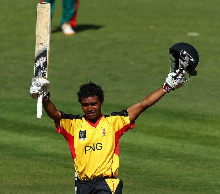 Tim Wigmore profiles Papua New Guinea batsman Lega Siaka Cricket
