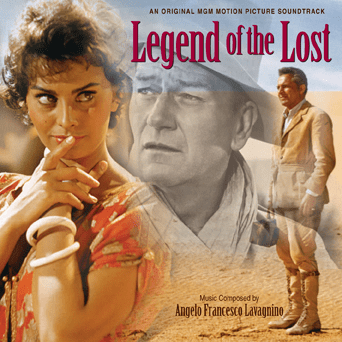 Legend of the Lost Classic soundtrack composed by Angelo Francesco Lavagnino Legend of