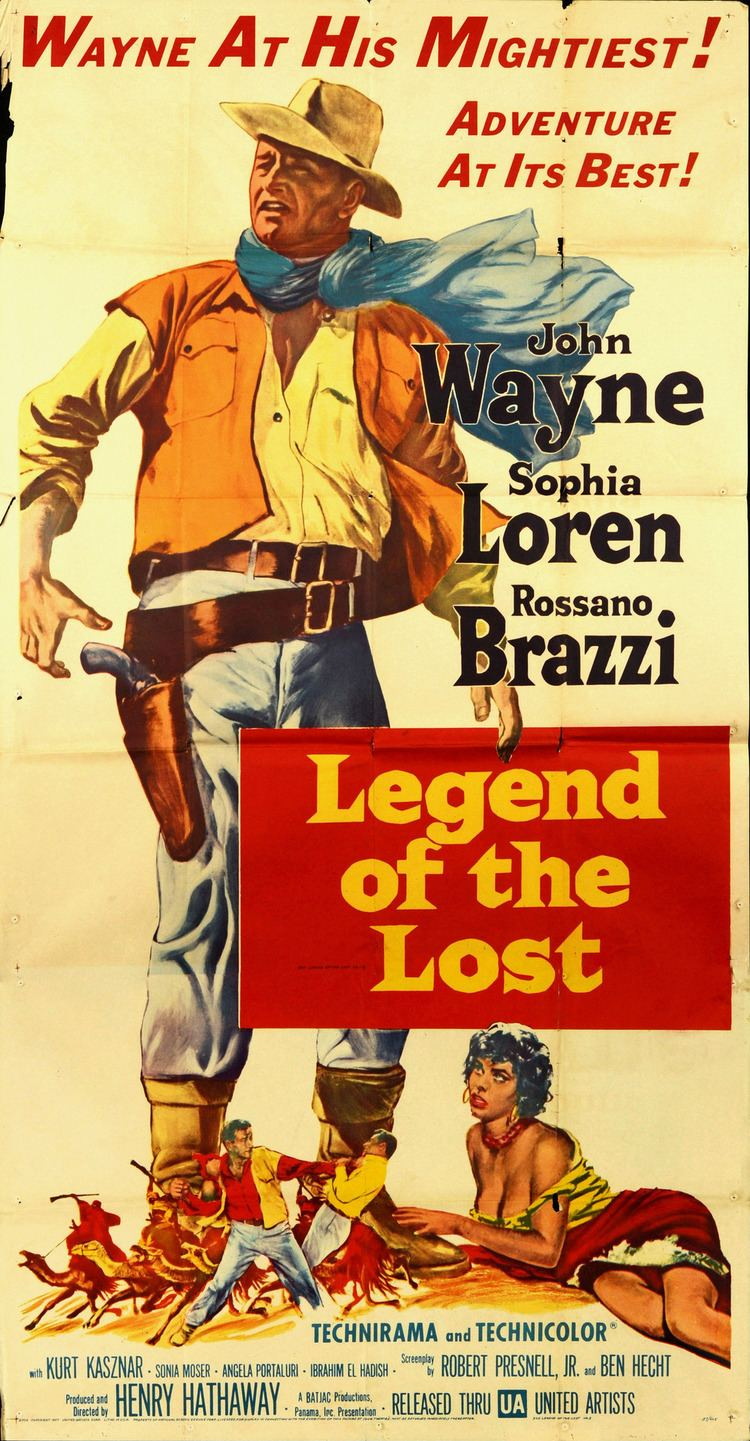 Legend of the Lost Legend of the Lost Movie Poster Retrovision Classic Movies