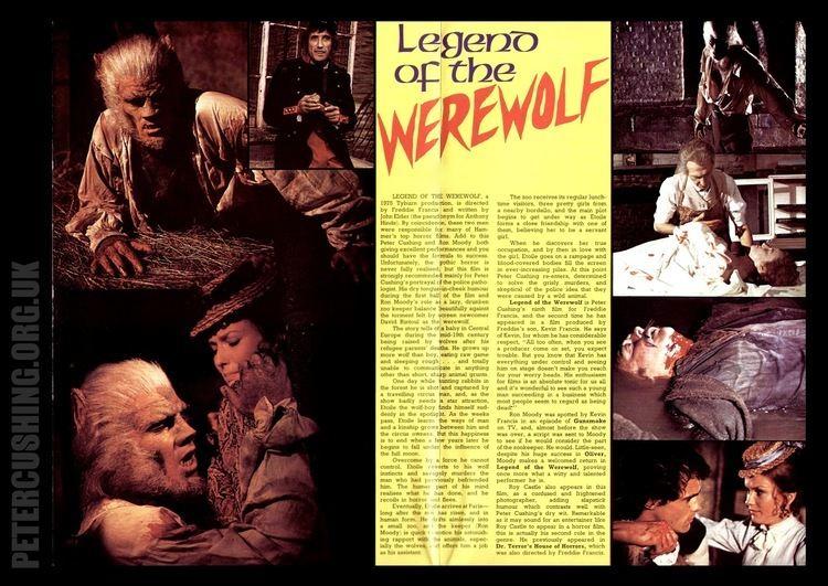 Legend of the Werewolf PETERCUSHINGBLOGBLOGSPOTCOM PCASUK PETER CUSHING LEGEND OF THE