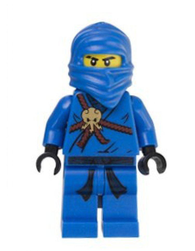 Lego Ninjago Amazoncom Jay Blue Ninja Lego Ninjago Minifigure Toys Games