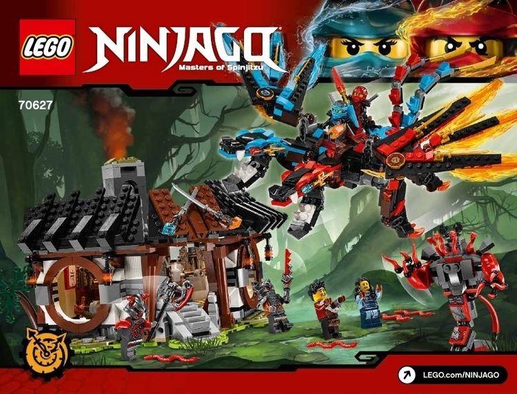 Lego Ninjago Lego Ninjago Instructions Childrens toys