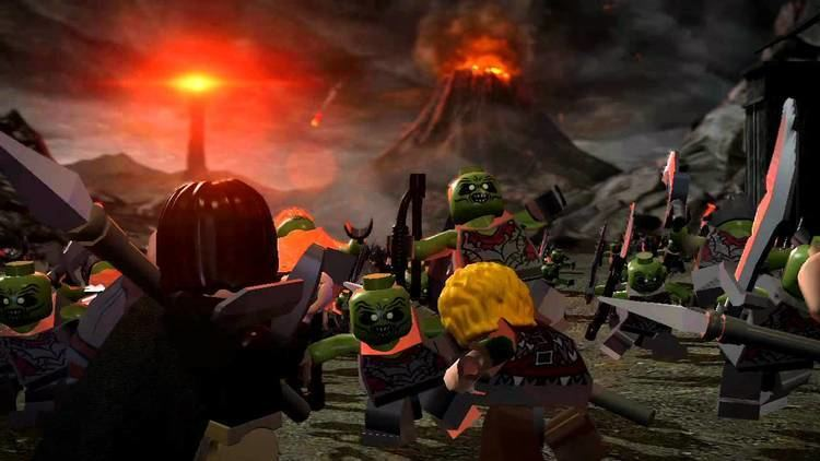 Lego The Lord of the Rings (video game) LEGO The Lord of the Rings Video Game Trailer YouTube