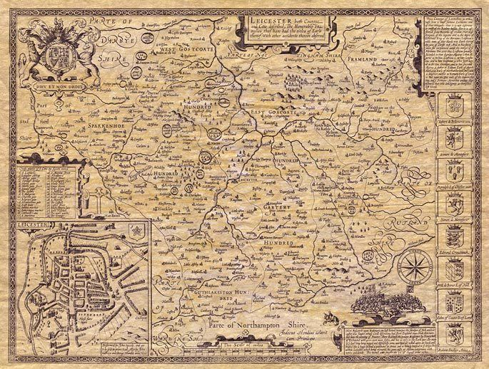 Leicestershire in the past, History of Leicestershire