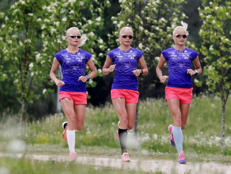 Leila Luik Identical triplets set to make Olympics history Women in the World