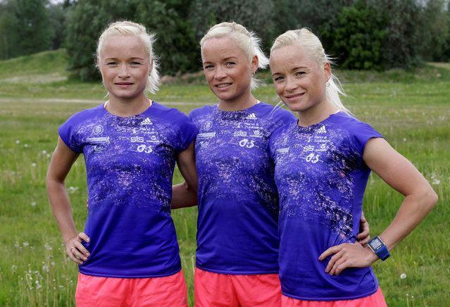Leila Luik Estonia39s Olympic Triplets
