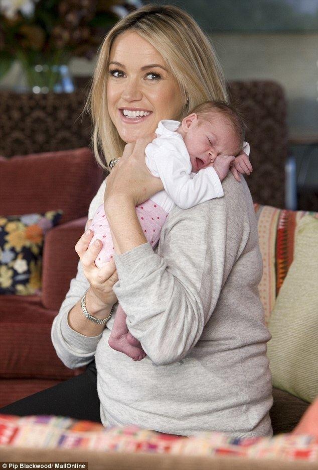 Leila McKinnon Leila McKinnon 41 shares her baby joy after IVF struggle