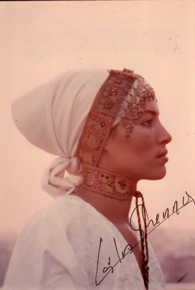 Leila Shenna Moroccan actress Leila Shenna who played the private jet hostess in