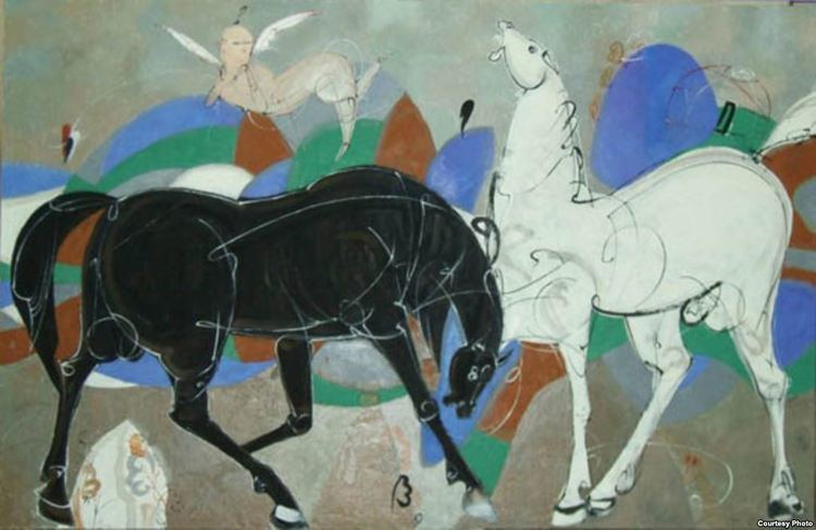 Lekim Ibragimov The Work Of Uzbek Artist Lekim Ibragimov