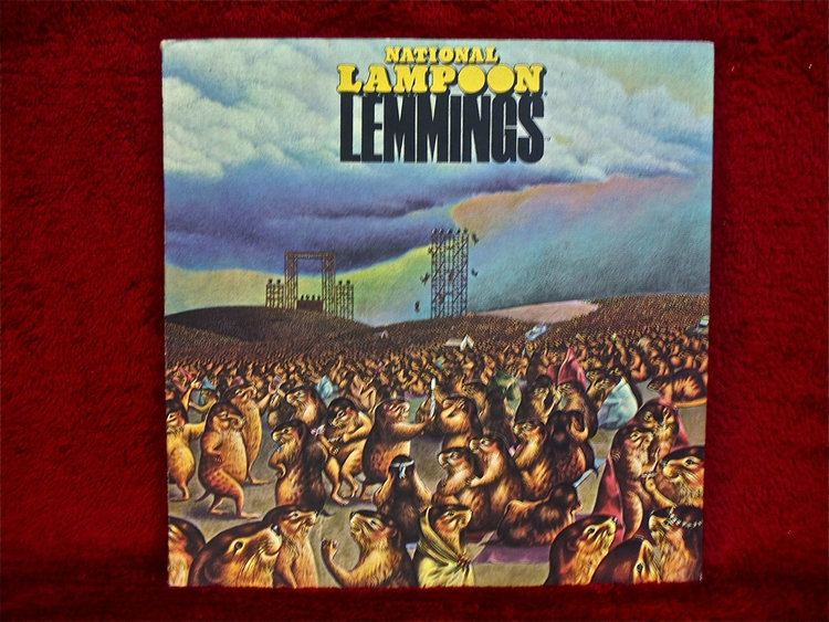 Lemmings (National Lampoon) NATIONAL LAMPOON Lemmings 1973 Vintage Vinyl by thevinylfrontier