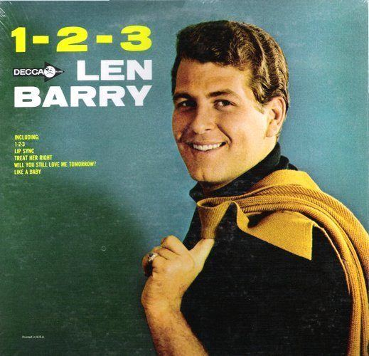 Len Barry LEN BARRY 123 Decca 1965 Blue Eyed Soul Motown White