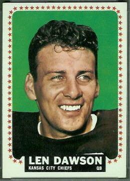 Len Dawson wwwfootballcardgallerycom1964Topps96LenDaws