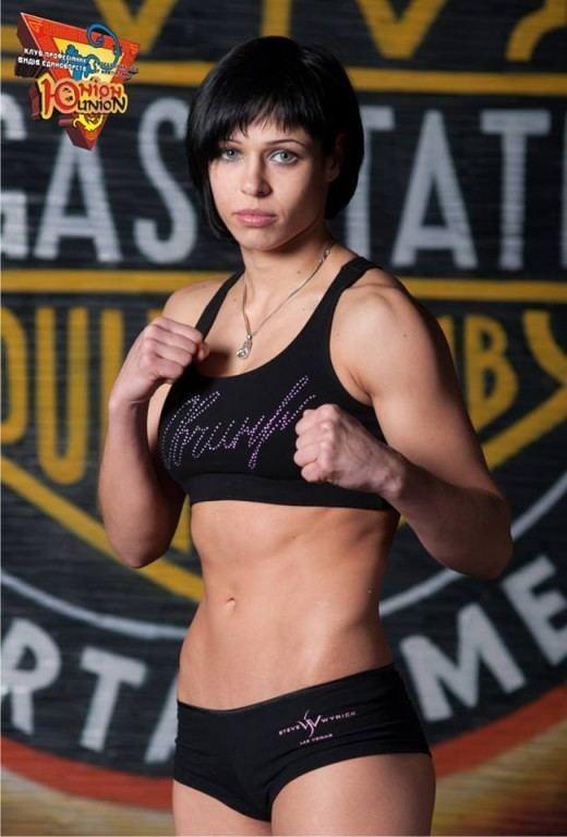 Lena Ovchynnikova Lena OVCHYNNIKOVA fight for WKF MMA title in Lviv World