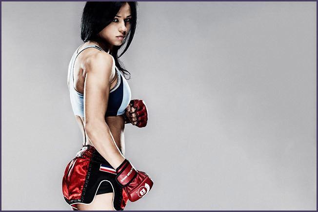 Lena Ovchynnikova Lena Ovchynnikova MMA Muay Thai Awakening Fighters