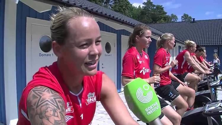 Leni Larsen Kaurin Sport amp Deutsch Interview mit Leni Larsen Kaurin YouTube