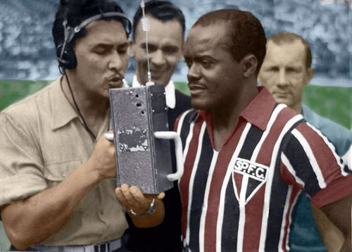 Leônidas Leonidas da Silva outstanding football player from the 1938 World Cup