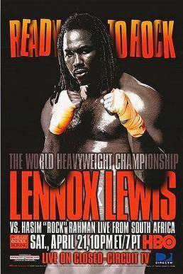 Lennox Lewis vs. Hasim Rahman
