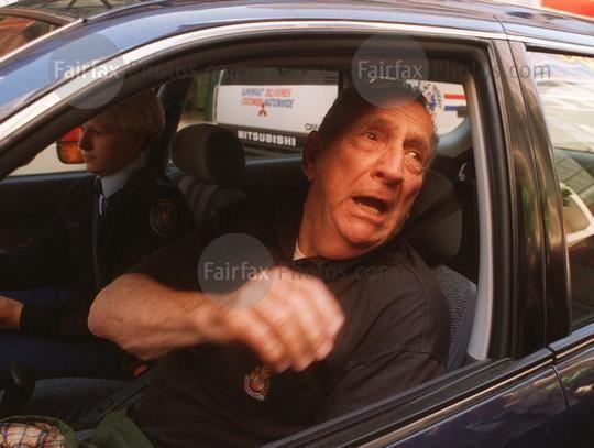 Lenny McPherson Fairfax Syndication Lenny McPherson leaving the Police