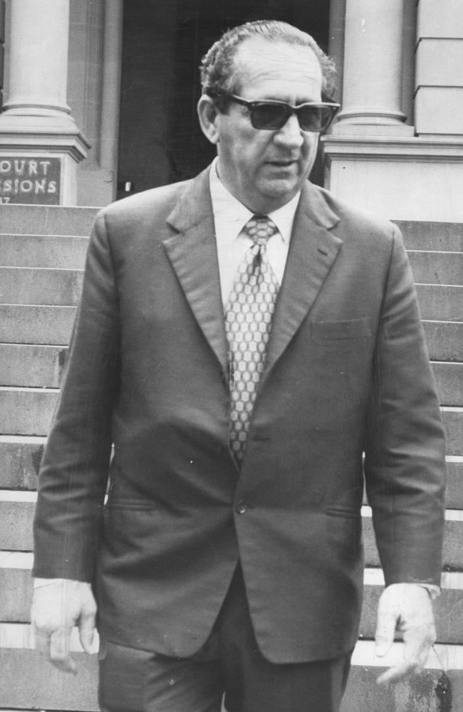 Lenny McPherson Sydneys notorious crime bosses Lenny McPherson Abe Saffron Neddy