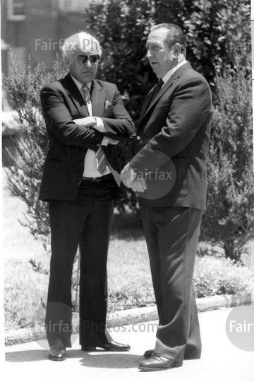 Lenny McPherson Fairfax Syndication George Freeman and Lennie McPherson