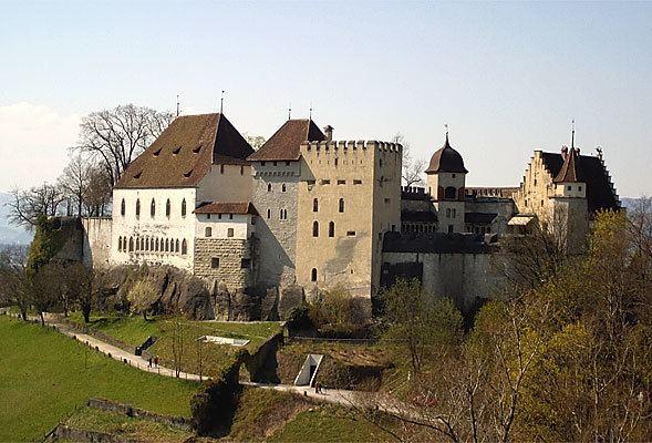 Lenzburg in the past, History of Lenzburg