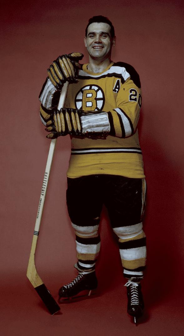 Leo Boivin Lo Boivin Boston Bruins 1960 HockeyGods